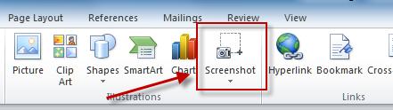 snapshot of screen